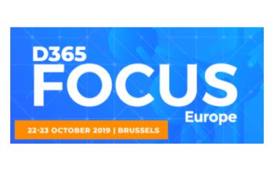 Testautomatisierung ohne Code und Entwickler – lernen Sie uns am 22./23. Oktober in Brüssel auf der D365 Focus Europe Konferenz kennen
