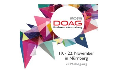 Partner for Performance representing DBPLUS at the DOAG Conference and Exhibition 2019 in Nuremberg