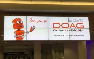 Die DOAG 2019 ist zu Ende – wir sehen uns 2020@DOAG