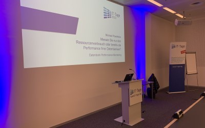 The Frankfurter IT Days 2019 are over – our presentation was well attended