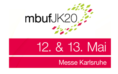 mbuf Jahreskongress 12.&13. May 2020 in Karlsruhe, meet us there!