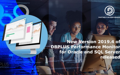 DBPLUS Performance Monitor Release 2019.4 for Oracle and SQL Server available