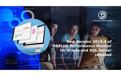 DBPLUS Performance Monitor Release 2019.4 steht für Oracle und SQL Server zur Verfügung