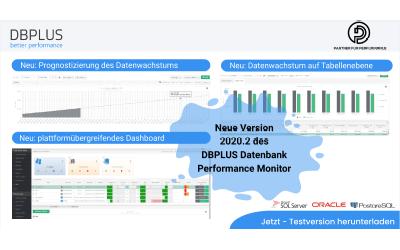 DBPLUS Performance Monitor Release 2020.2 steht für SQL Server und Oracle zur Verfügung